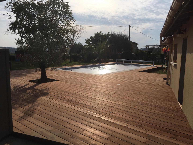 Menuiserie De France Merignac terrasse en bois - bordeaux, langon, arcachon | menuiseries